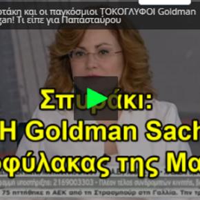 Μαρία Σπυράκη: «Η Goldman Sachs θεματοφύλακας της Μαρέβα Μητσοτάκη!»(ΒΙΝΤΕΟ)