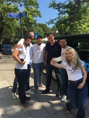 Ο Γιώργος Καραμέρος στην εκστρατεία «Let's Do It Greece» – Οι πόλεις μας και το οπτικό μας νεύρο@Karameros